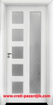 Интериорна HDF врата, модел 048 Бял
