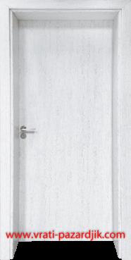 Стъклена интериорна врата Гама 210, цвят Бреза