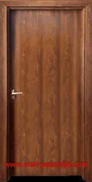 Стъклена интериорна врата Гама 210, цвят Златен дъб