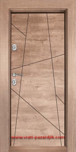Входна врата с ламинат Т-1003